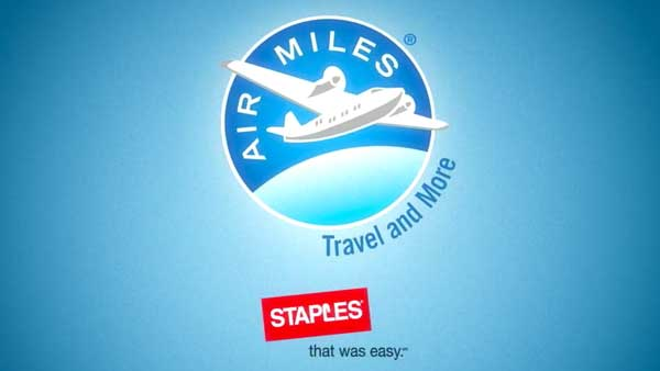 Staples & Airmiles