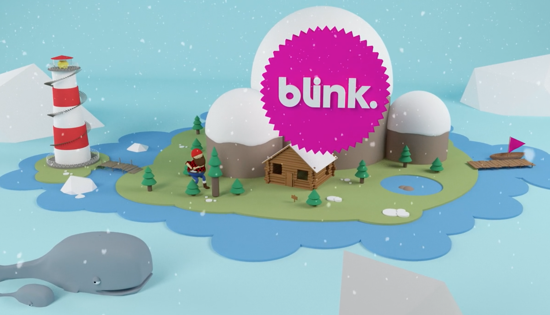 Happy holidays from Blink