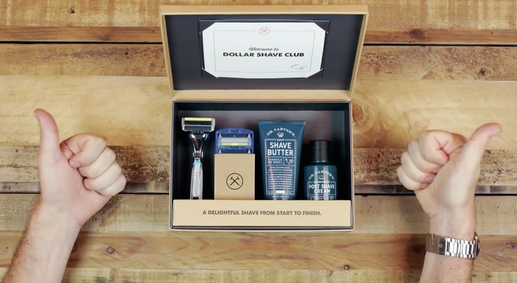 Fathers Day, Gift Box, Dollar Shave Club