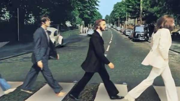 Abbey Road, Camera Projection.